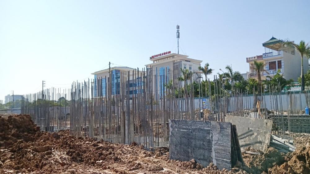 Sản phẩm mới tòa Lotus 2 thuộc dự án chung cư Green City Bắc Giang hoàn thiện móng vượt tiến độ